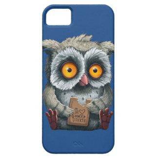 フクロウのTe Quiero Muchoの電話箱 iPhone SE/5/5s ケース
