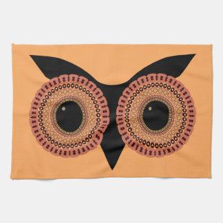 フクロウは台所タオルを注目します キッチンタオル