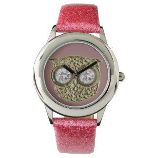 フクロウ時間 腕時計