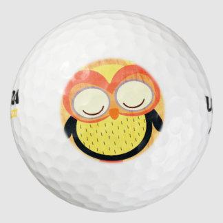 フクロウ ゴルフボール