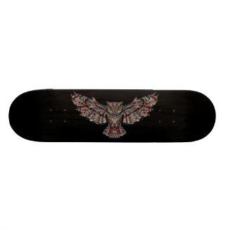 フクロウ スケートボード