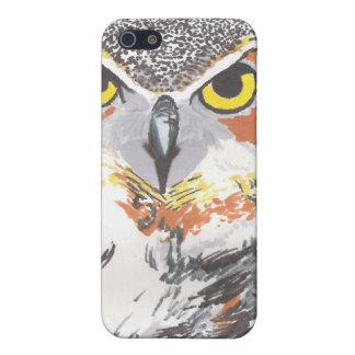 フクロウ iPhone 5 CASE
