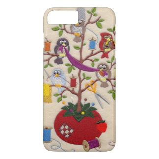 フクロウ iPhone 8 PLUS/7 PLUSケース