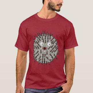 フグの暗闇のTシャツ Tシャツ