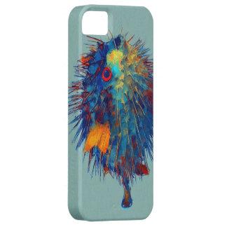 フグの絵画 iPhone 5 カバー
