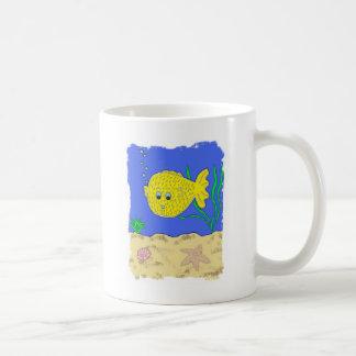 フグは泡立ちます コーヒーマグカップ