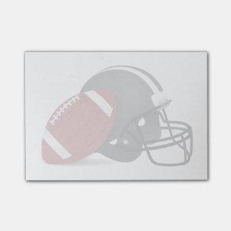 フットボールおよびヘルメット ポストイット