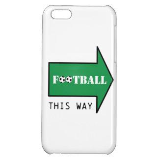 フットボールこうすれば iPhone 5C カバー