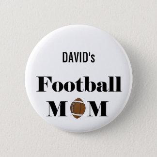 フットボールのお母さん 缶バッジ