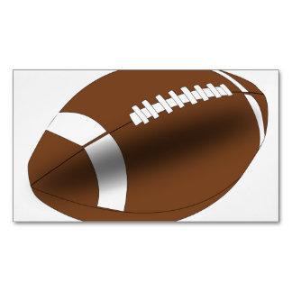 フットボールのコーチの学校教師のチーム・スポーツ マグネット名刺 (25枚パック)