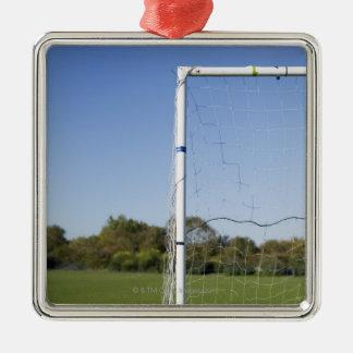 フットボールのゴール メタルオーナメント
