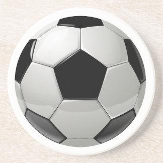 フットボールのサッカーボール コースター