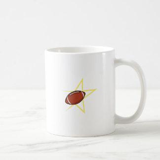 フットボールのスター選手 コーヒーマグカップ