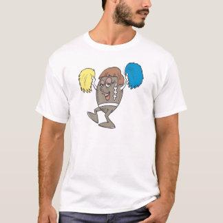 フットボールのチアリーダー Tシャツ