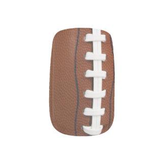 フットボールのデザインのネイル ネイルアート