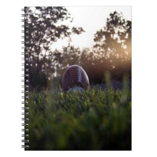 フットボールのノート ノートブック