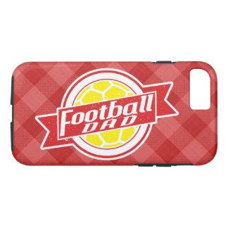フットボールのパパの移動式カバー iPhone 8/7ケース