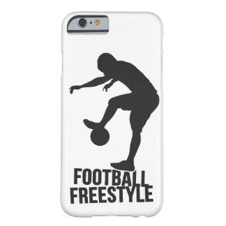 フットボールのフリースタイル|のサッカー BARELY THERE iPhone 6 ケース