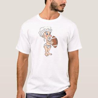フットボールのベビー Tシャツ