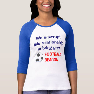 フットボールの寡婦 Tシャツ