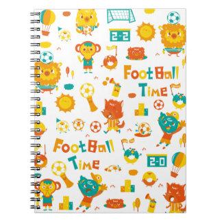 フットボールの時間! ノートブック