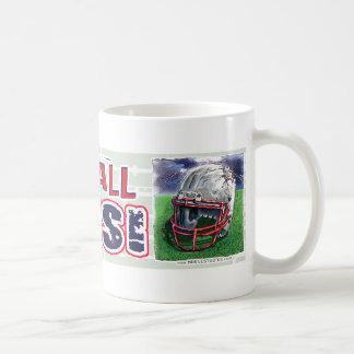 フットボールの石! ヘルメットのマグ コーヒーマグカップ