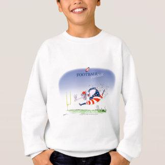 フットボールの蒸気ローラー、贅沢なfernandes スウェットシャツ