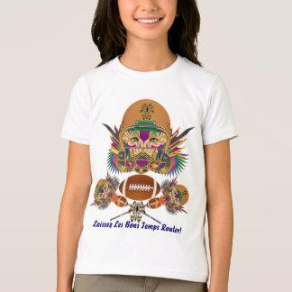 フットボールの謝肉祭はそれを早くノートを見ることです考えます Tシャツ