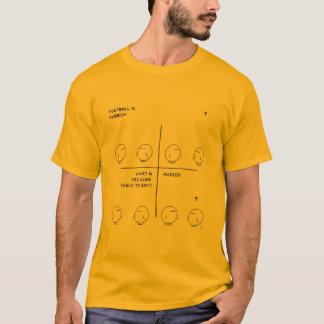 フットボールの議論 Tシャツ