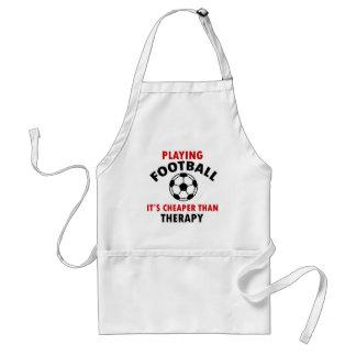 フットボールを遊ぶこと スタンダードエプロン