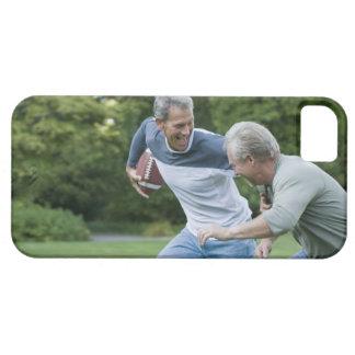 フットボールを遊んでいる人 iPhone SE/5/5s ケース