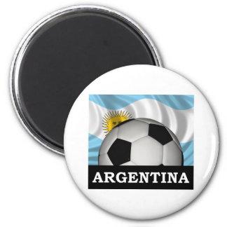 フットボールアルゼンチン マグネット