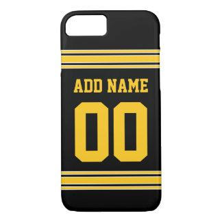 フットボールジャージー-あなたの情報とカスタマイズ iPhone 8/7ケース