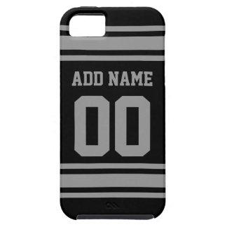 フットボールジャージー-あなたの情報とカスタマイズ iPhone SE/5/5s ケース