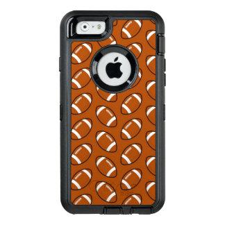 フットボールパターンiPhone 6/6sのオッターボックスの場合 オッターボックスディフェンダーiPhoneケース