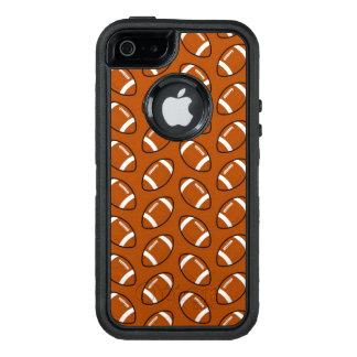 フットボールパターンiPhone SE/5/5sのオッターボックスの場合 オッターボックスディフェンダーiPhoneケース