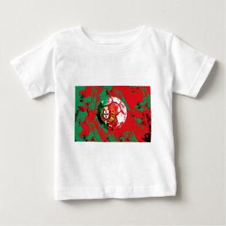 フットボールポルトガル ベビーTシャツ