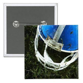 フットボール用ヘルメット 5.1CM 正方形バッジ