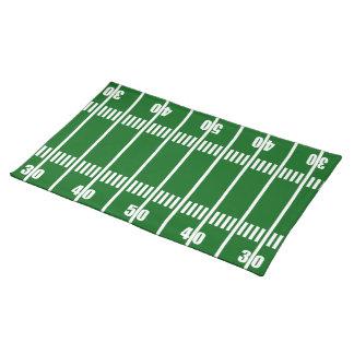 フットボール競技場50のヤードラインランチョンマット ランチョンマット