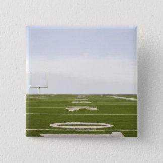 フットボール競技場 5.1CM 正方形バッジ