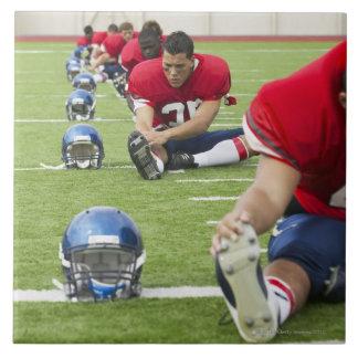 フットボール選手の伸張 タイル