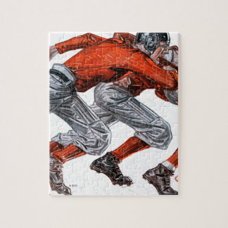 フットボール選手 ジグソーパズル