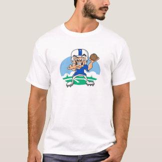 フットボール選手 Tシャツ