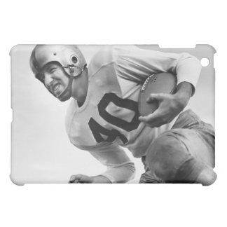 フットボール3を遊んでいる人 iPad MINI CASE