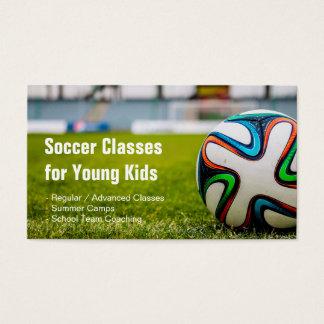 フットボール/サッカーはスタイリッシュで、ユニークなコーチを分類します スタンダード名刺