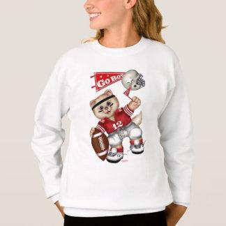 フットボールCATの女の子のH ComfortBlend®のスエットシャツ11 スウェットシャツ