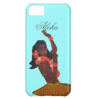フラのダンサーのアロハSeafoamの緑 iPhone5Cケース