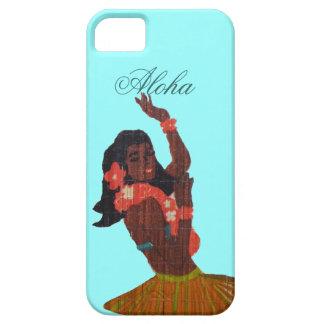 フラのダンサーのアロハSeafoamの緑 iPhone SE/5/5s ケース