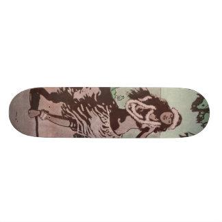 フラのフラ女の子 20CM スケートボードデッキ