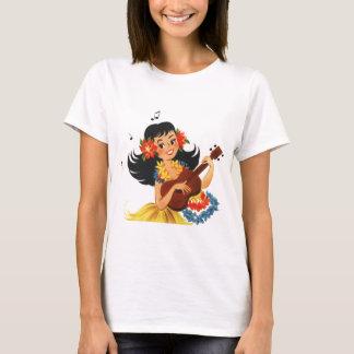 フラのフラ女の子 Tシャツ